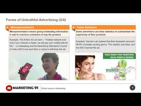 Ethical Issues In Advertising - Advertising And Ethics