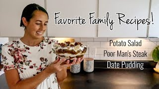 3 Amish/Mennonite Style Recipes | Cook and Bake with Me | Lynette Yoder