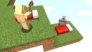 Ich Trolle ihn mit einem Fake Bett 👌💯.. Minecraft LUCKY BLOCK BEDWARS
