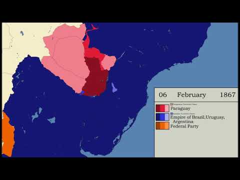 The Paraguayan War: Every Day (1864-1870)
