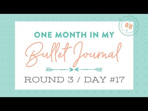 One Month in my Bullet Journal | Round 3 | Day 17 (Fertility Tracker!)