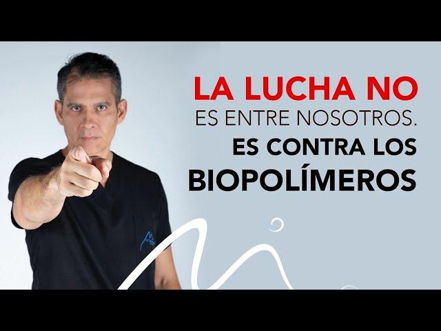 La lucha NO es entre nosotros. Es contra los Biopolímeros.