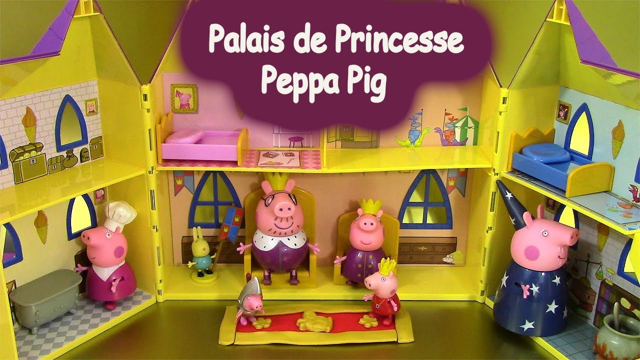 palais de princesse peppa pig princess peppa 39 s palace p te. Black Bedroom Furniture Sets. Home Design Ideas