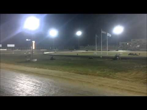 Anton Hernandez @ Outlaw Speedway Lucas Oil POWRi Midget Series