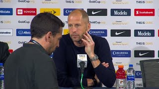 Press Conference: Gregg Berhalter - United States (1) - (0) Curaçao - Gold Cup 2019