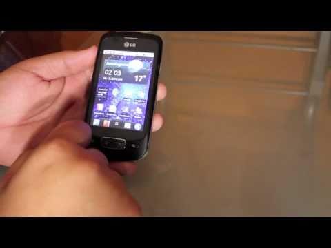 LG optimus one, completo análisis y tour por sus aplicaciones en español y HD
