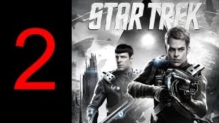 "Star Trek gameplay walkthrough part 2 let's play PS3 GAME XBOX PC HD ""Star Trek walkthrough part 1"""