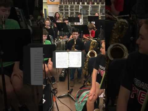 8th-Grade Saxophone Player Burns Through Flight Of The Bumblebee