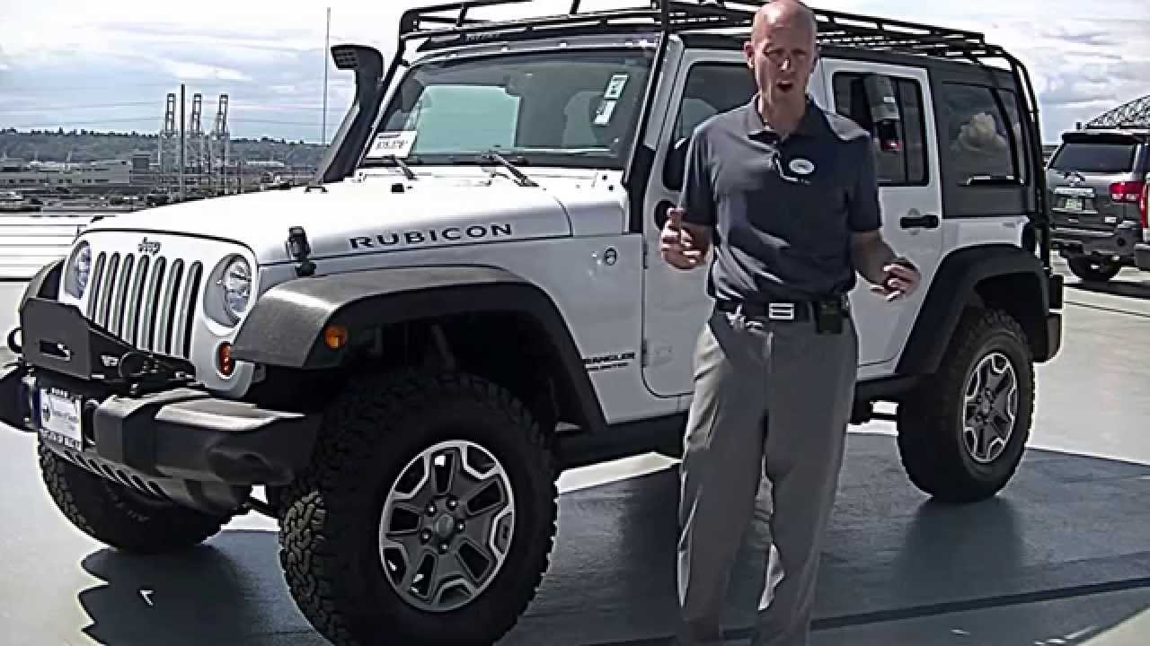 2013 Jeep Wrangler Unlimited Rubicon Review   We Review The Wrangler  Engine, Interior And More   YouTube
