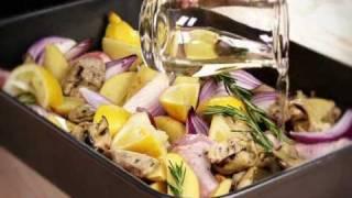 Italian chicken with artichokes recipe