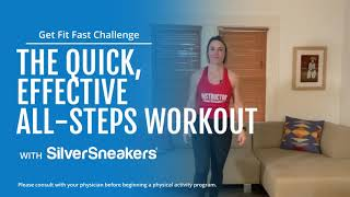 The Quick, Effective All-Steps Workout | SilverSneakers