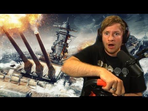 World of Warships mit dem Lenkrad spielen | edit. Gameplay  [PP]