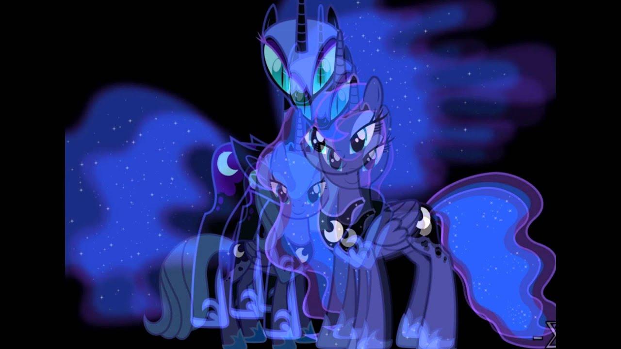 фото лунная пони
