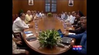 PM Modi Chairs Meeting To Review LoC Situation
