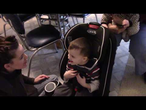 Graco Atlas 65 Child Car Seat Unboxing and How To Part 1