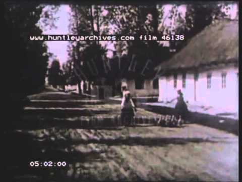 Poland and Polish life in the 1930's.  Film 46138