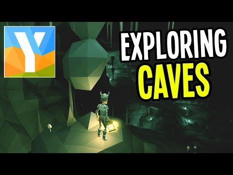 Ylands - EXPLORING CAVES and FIGHTING MUTANTS - Ylands Gameplay - Ep. 8