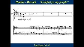 Handel Messiah Part 1 - 2 Comfort Ye My People - Tenor