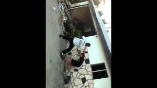 Kid vs man slap boxing