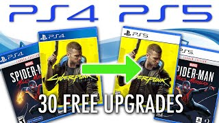 All PS4 to PS5 Free Upgrades Confirmed So Far (And How They Work vs. Xbox Smart Delivery)