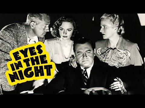 Eyes in the Night (1942) Film Noir, Crime, Mystery Full Length Movie