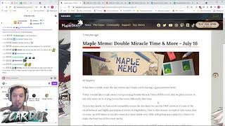 Double Miracle Time (DMT) update!   MapleStory Global Memo