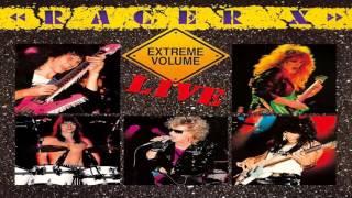 Band: Racer X Album: Extreme Volume Live Label: Shrapnel Records Re...