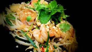 Pad Thai Prawns (Chinese Style Cooking) Recipe