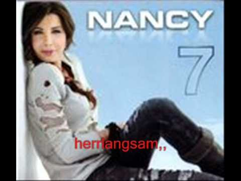 nancy ajram 7 - 3eny_3alek NEW 2010 ALBUM