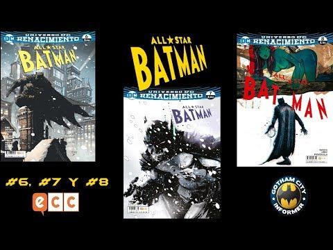 ALL STAR BATMAN #6 , #7 Y #8 | Gotham City Informer | Todo Batman en Español
