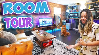 INSANE SNEAKER STUDIO GAMING ROOM TOUR 2019 !!! 5 YEARS IN THE MAKING !!!