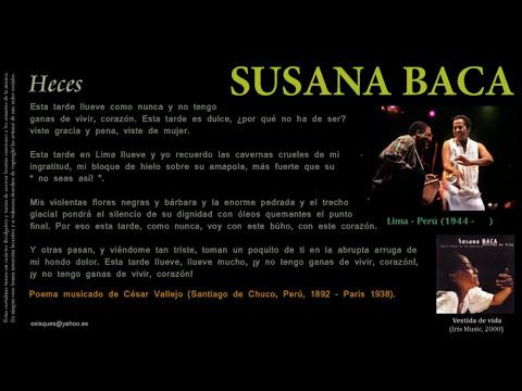 Heces (Poema de César Vallejo) - Susana Baca