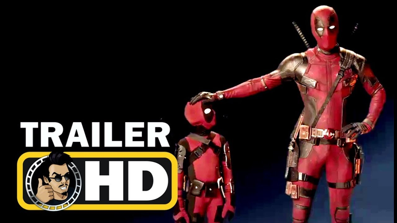 "Download DEADPOOL 2 ""Mini-Deadpool"" IMAX TV Spot Trailer (2018) Ryan Reynolds Marvel Superhero Movie HD"