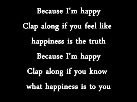 happy - Pharrell Williams lyrics (letra) - YouTube