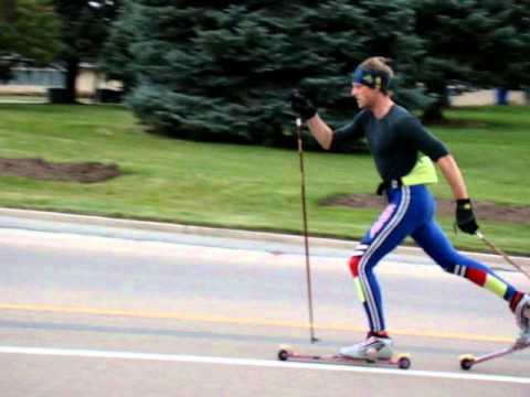 Image result for ROLLER SKIING