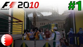 F1 2010 KARRIERE Part 1: Es geht los!
