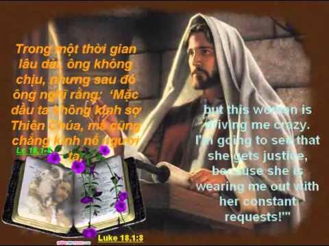 Lời cầu nguyện thành khẩn và liên lỉ không mệt mỏi. (CN_XXIX-C)