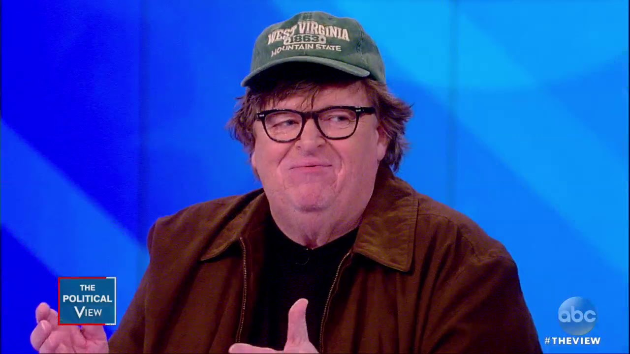 """Michael Moore On Why He Believes Trump Could Be """"The Last President""""   The View"""