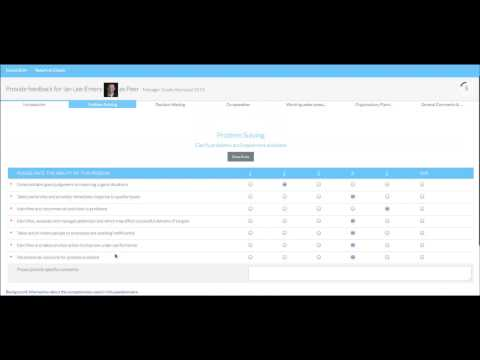 Talent 360 - Making it easy to provide 360 feedback