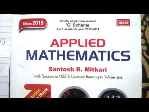 how to get easyli pass in M3-applied mathematics of 3-sem 2nd year of  diploma MSBTE