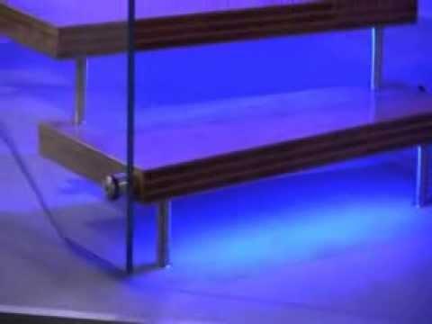 Estfeller scala su misura interne per arredamento illuminate con LED Invent L...