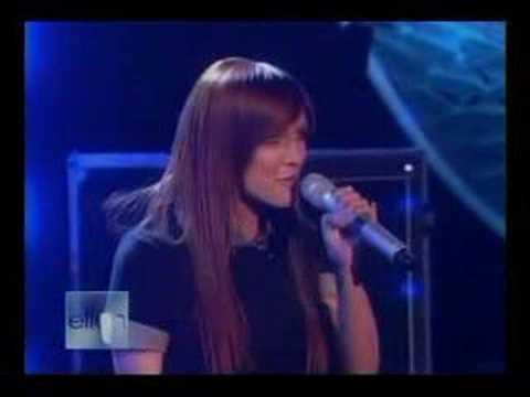 Ashlee Simpson - Little Miss Obsessive (on Ellen)
