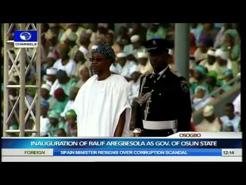 Inauguration Of Rauf Aregbesola As Governor Of Osun State Part 2