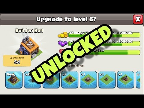 BUILDER HALL 8 | UNLOCKED ALL | CLASH OF CLANS