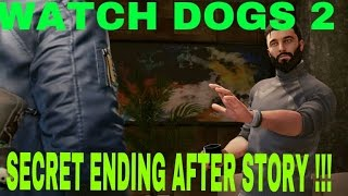 watch dogs 2 secret ending after story aiden pearce watch dogs 3 final