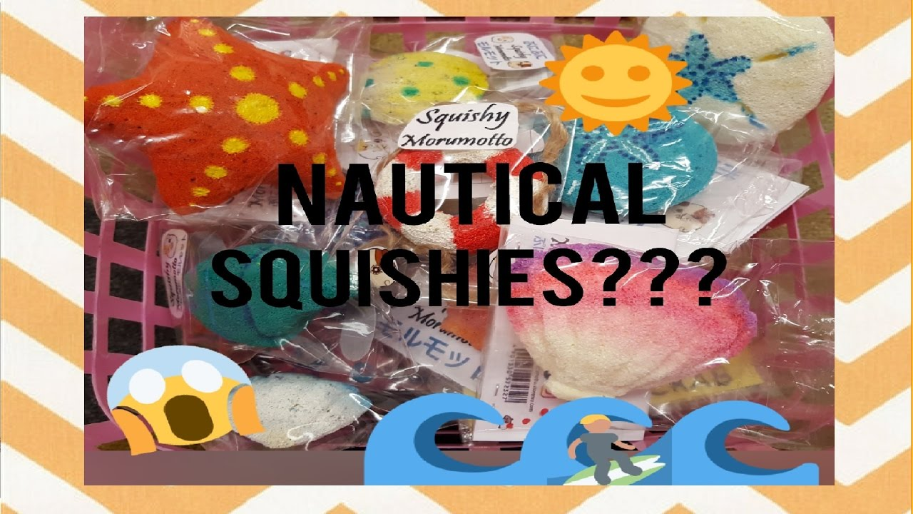 Homemade Squishy Collection 2014 : HOMEMADE SQUISHY COLLECTION (PART 3) Nautical Squishies??? - YouTube