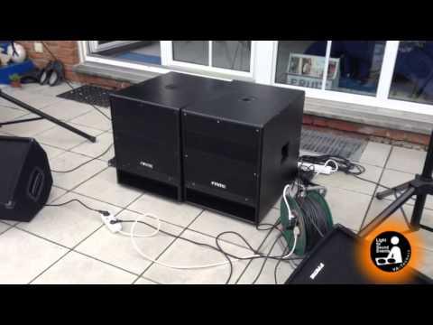 meine pa anlage outdoortest mit electro voice doovi. Black Bedroom Furniture Sets. Home Design Ideas