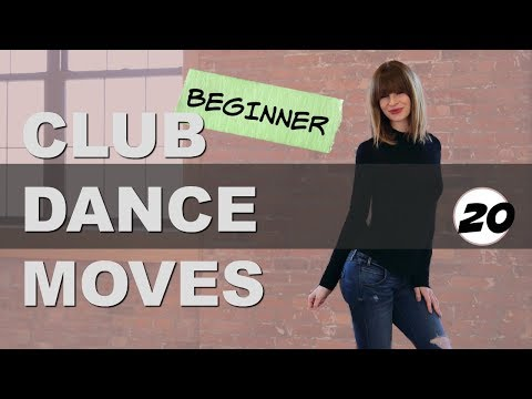 Club Dance Moves Tutorial For Beginners Part 20  I   Step Forward Hip Roll