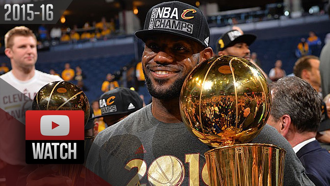 Download LeBron James Full Game 7 Highlights at Warriors 2016 Finals - 27 Pts, 11 Reb, 11 Ast, CHAMPION!