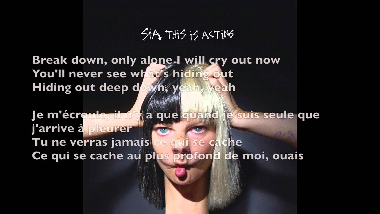 Sia - Unstoppable (Parôles/Traduction française) - YouTube